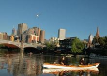 kayak down wailua river to fern grotto:1.5-Hour Melbourne City Sights Kayak Tour