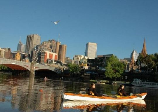 1.5-Hour Melbourne City Sights Kayak Tour