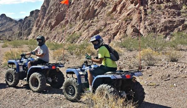 Grand Canyon Helicopter and ATV Tour: Lake Mead National Park, Colorado River, and Hoover Dam
