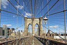 calipano suspension bridge:Brooklyn Bridge Bike Rentals