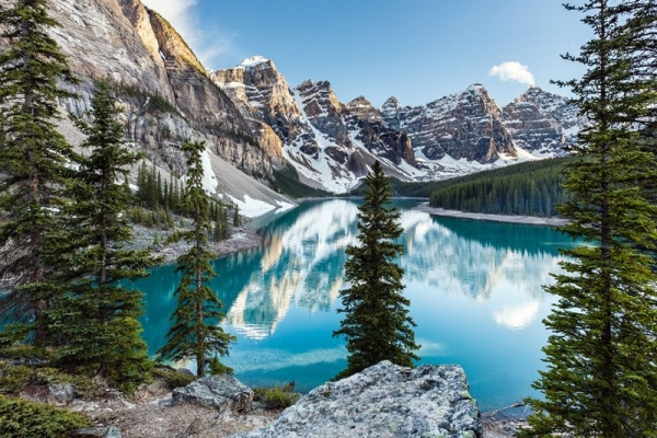 canadian vacations 2014:6-Day Canadian Rocky Mountain & Mt. Robson Summer Tour Package