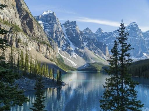 7-Day Canadian Rocky Mountain & Mt. Robson Summer Tour Package