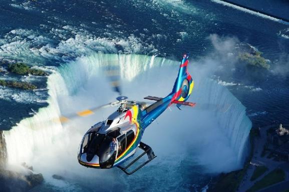Niagara Falls Helicopter Tour (Canada Side)