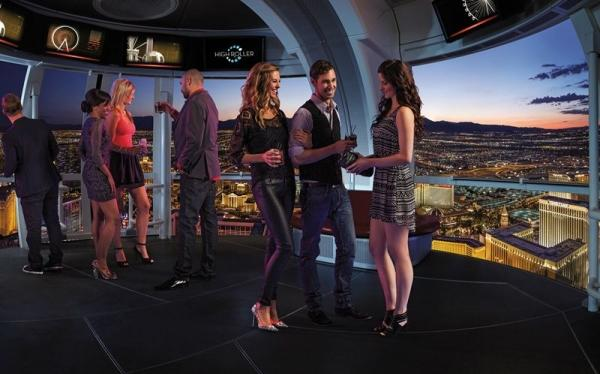 Las Vegas High Roller Happy Half Hour Cabin Full-Day Ticket
