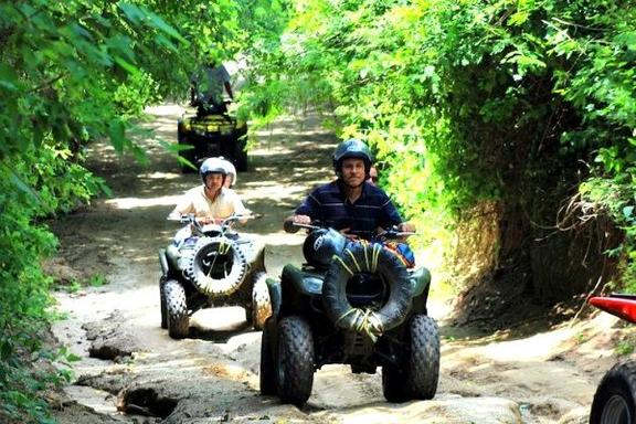 Huatulco ATV Jungle to Beach Tour
