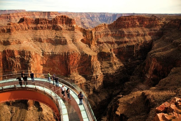 flight time from san francisco to grand canyon tour:Grand Canyon West Rim Helicopter Tour with Skywalk