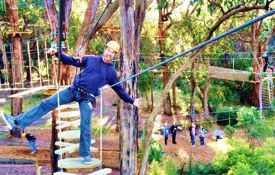 1-Day Tree Surfing Adventure: Enchanted Adventure Garden