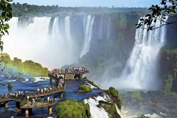 Iguazu Falls Tour From Puerto Iguazu W/ Boat Ride: Argentina Side