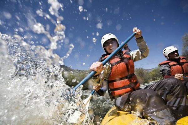 River Rafting the Mendoza Rapids