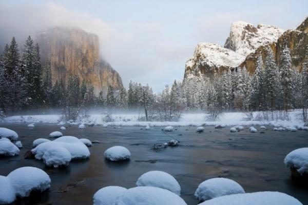 Yosemite Winter Tour