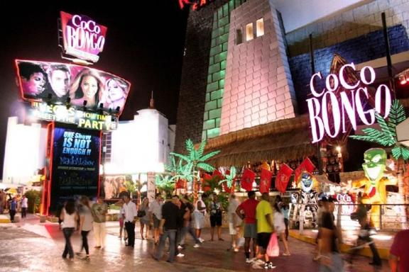 1-Day Coco Bongo Night Club Tour