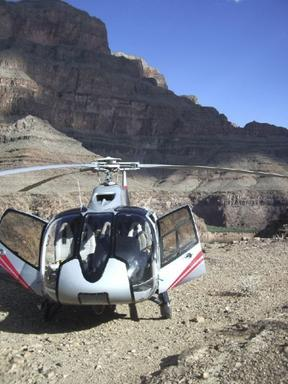 Grand Canyon Helicopter, Airplane and Boat Tour