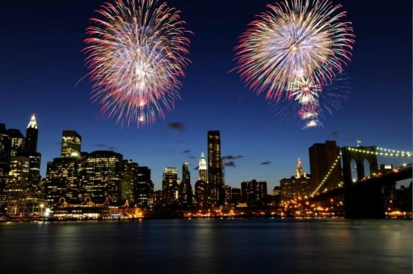 6-Day 2019 New Year's Eve Times Square Countdown Tour from Boston
