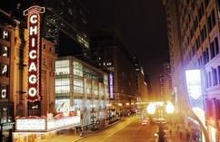 chicago tour bus schedule:Chicago Theatre District Urban Quest