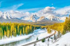 canadian rockies by coach:12-Day Canadian Rockies Winter Tour: Jasper - Lake Louise - Banff - Calgary