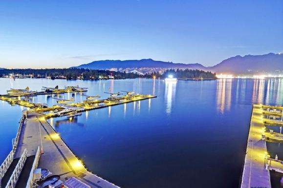 Vancouver Extended Panorama Airplane Tour