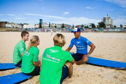 Bondi Beach Surfing Lessons