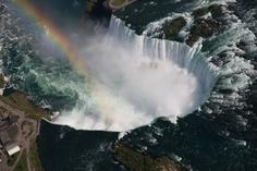 escorted tours southern us:1-Day Niagara Falls Guided All American and Helicopter Adventure Tour from New York