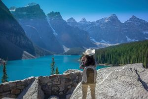 Majestic Rockies With The Calgary Stampede
