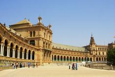 madrid trips with game:4-Day Caceres - Cordoba - Seville Tour from Madrid