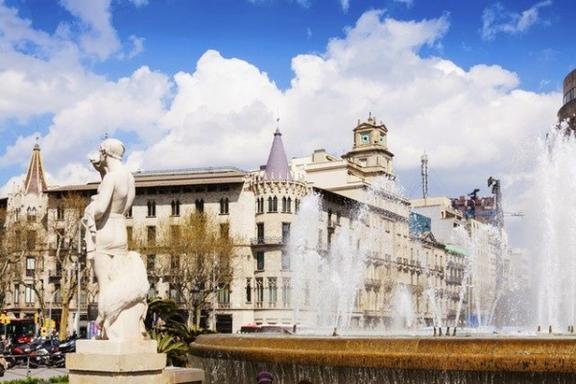 Half-Day Barcelona Sightseeing Tour: Montjuic | Spanish Village | Gothic Quarter