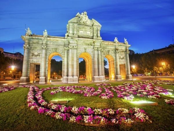 Madrid Sightseeing Tour by Bus and on Foot