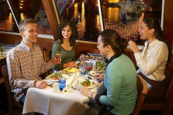 2-Hour Amsterdam Dinner Cruise