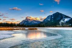 european group tour packages from india in winter 2014:6-Day Canadian Rocky Mountain, Hot Springs Winter Tour Package