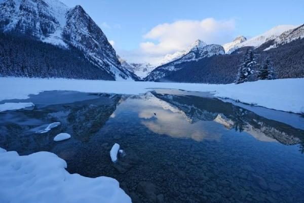 6-Day Canadian Rocky Mountain, Hot Springs Winter Tour Package