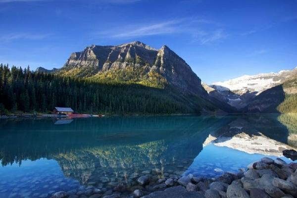 5-Day Canadian Rocky Mountain, Hot Springs Winter Tour Package