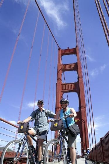 Golden Gate Bridge to Sausalito Bike Tour