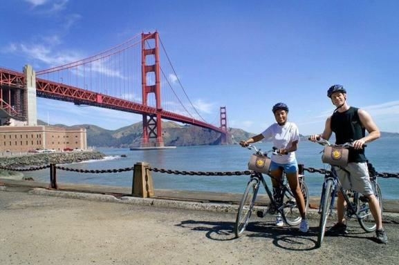 Golden Gate Bridge to Sausalito Bike Tour