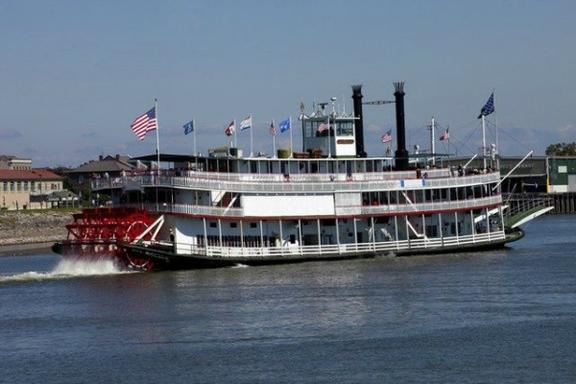 New Orleans Steamboat Harbor Cruise