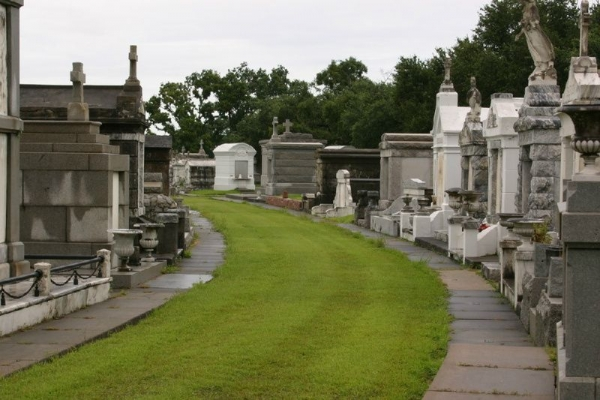 New Orleans Garden District Ghosts and Legends Tour from Tours4Fun Product Image