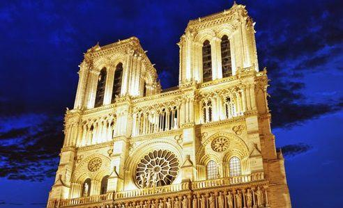 The Towers of Notre Dame After Hours