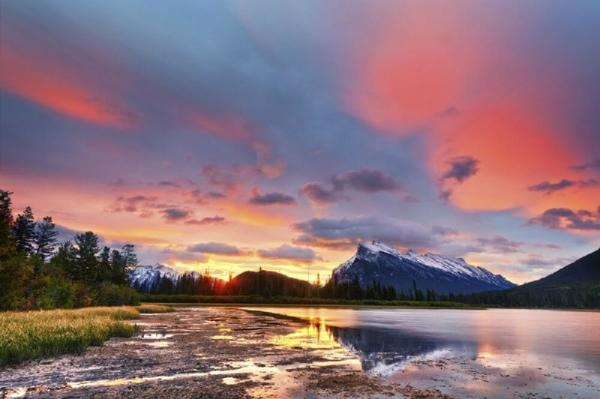 6-Day Vancouver, Canadian Rockies, Banff & Glacier View Summer Tour Package