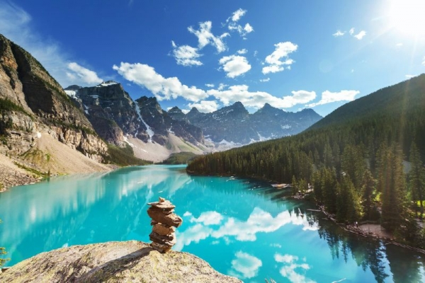 canadian vacations 2014:7-Day Vancouver, Canadian Rockies, Glacier View & Victoria Summer Tour Package