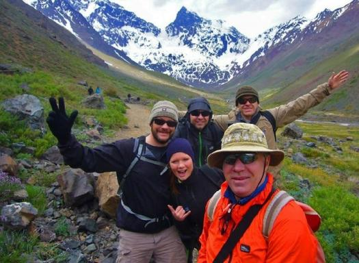 El Morado National Park Glacier Hike from Santiago