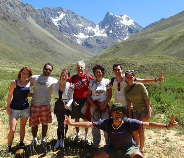 El Morado National Park Glacier Hike from Santiago