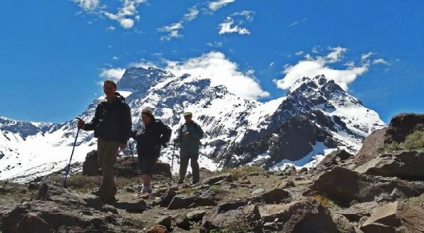 Cajon del Maipo and San Jose Volcano Hiking Tour from Santiago