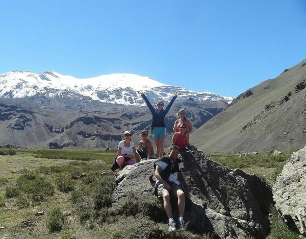 Andes Hike and Hot Springs Day Tour from Santiago