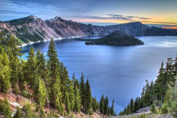 5-Day Los Angeles, Oregon, Crater Lake National Park, San Francisco Tour