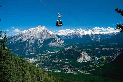 Explore Banff Sightseeing Tour & Lake Minnewanka Cruise With Banff Gondola