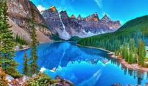 Banff & Yoho National Park Tour**With Lake Louise, Moraine Lake, & Takakkaw Falls**