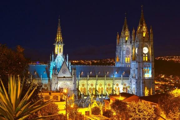 Quito Night Tour with Dinner