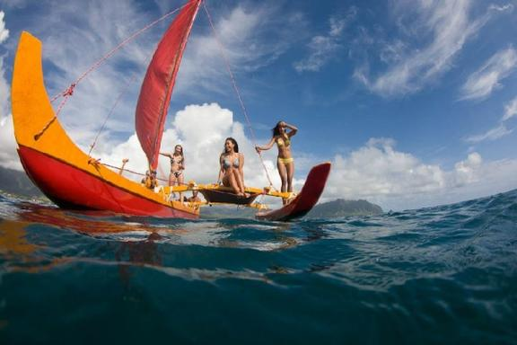 Hawaiian Canoeing Adventure Tour