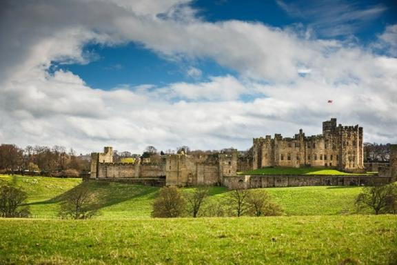 Alnwick Castle, Northumberland Coast and the Borders Day Trip