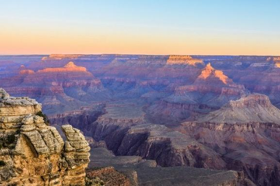 Grand Canyon South Rim Hiking & Bus Tour