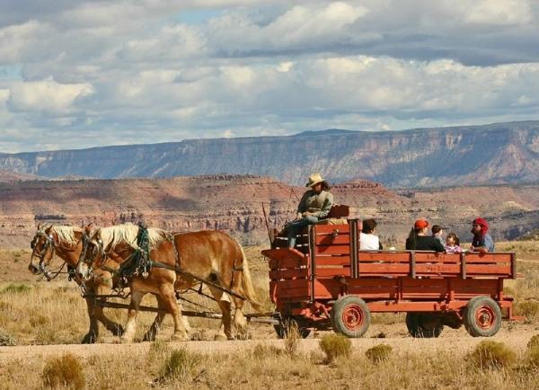 Grand Canyon West Rim Hiking & Bus Tour