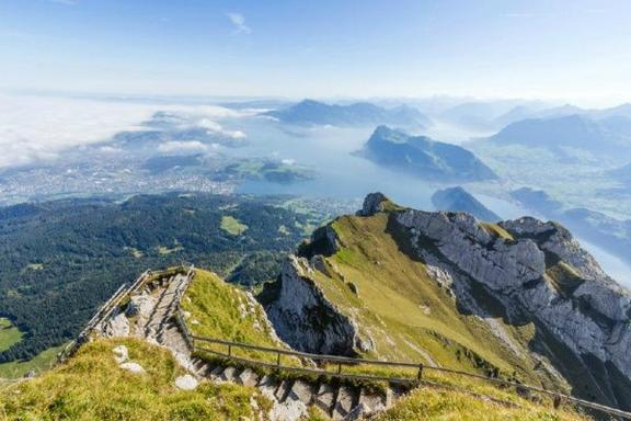 Mount Pilatus Golden Round Trip from Zurich